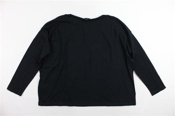 shirt oversize manica lunga con stampa DIESEL | Shirts | 00J421-00CZJK900NERO