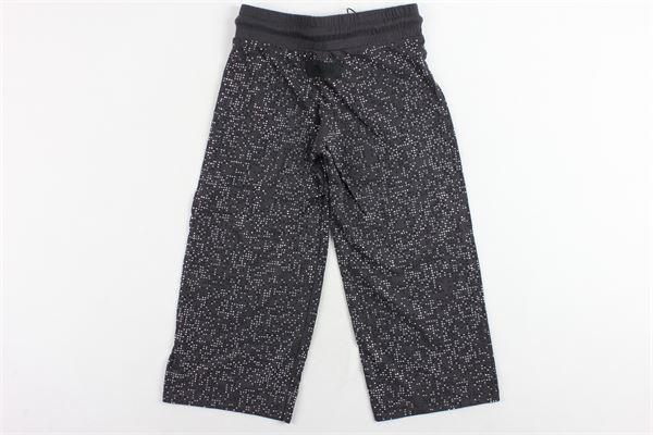 pantalone vita alta elastico in vita a palazzo con brillantini DIESEL | Pantaloni | 00J4IYGRIGIO