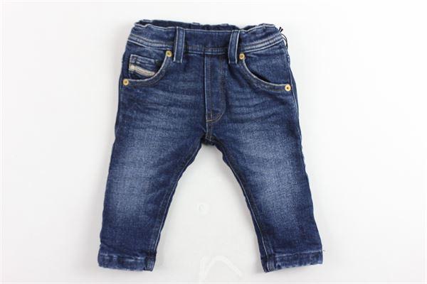 jeans 5 tasche tinta unita elastico in vita DIESEL   Jeans   00K1UEBLU