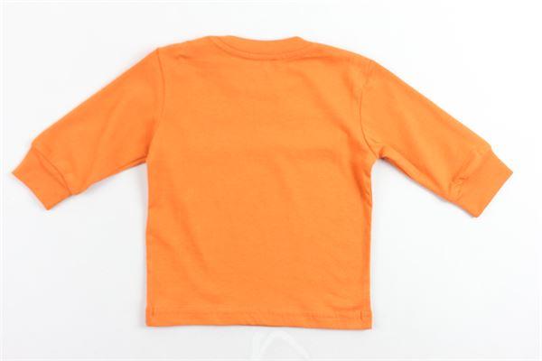 shirt manica lunga tinta unita con stampa DIESEL | Shirts | 00K21SARANCIONE