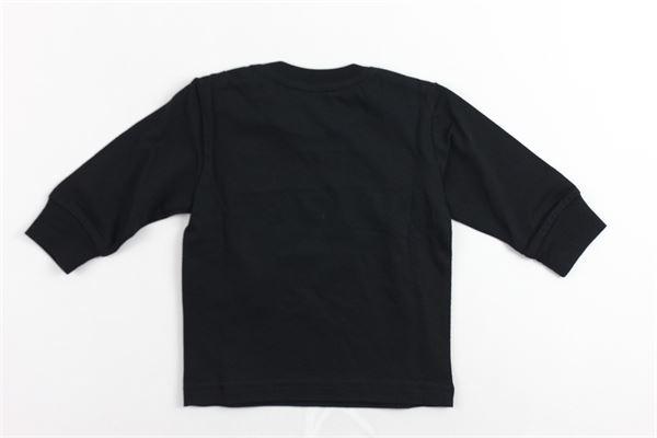 shirt manica lunga tinta unita con stampa DIESEL | Shirts | 00K21SNERO