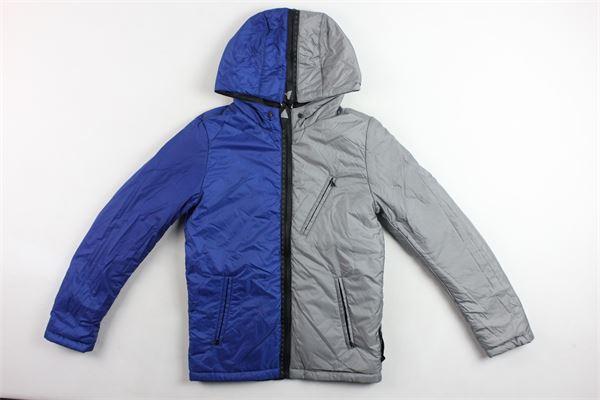 giubbini reversibile con cappuccio e zip bicolore VALENTINA BEBES | Giubbini | IDIVL06SNERO