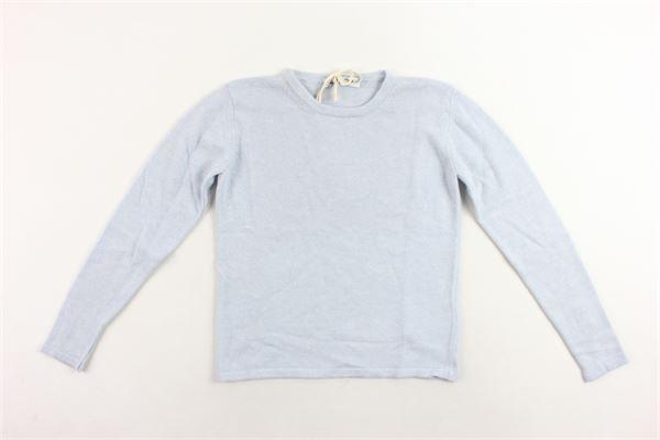 maglione girocollo tinta unita DONDUP | Maglie | DFMA15FL98CELESTE
