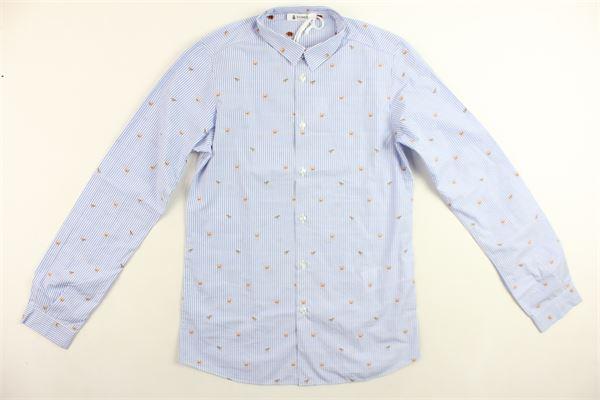 DONDUP | Shirts | DMCA16CR181RDUNICELESTE