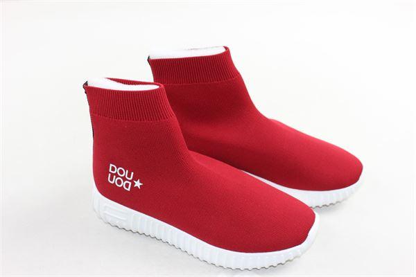sockboots coto tinta unita DOU DOU | Scarpe | DOUUODSOCK101ROSSO