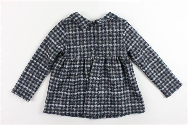 blusa in lana microfantasia DOU DOU | Maglie | UJRCA112023GRIGIO