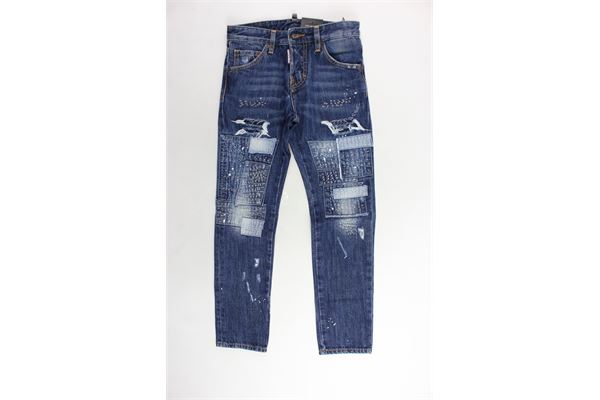 DSQUARED | Jeans | DQ01PW-D00PSBLU