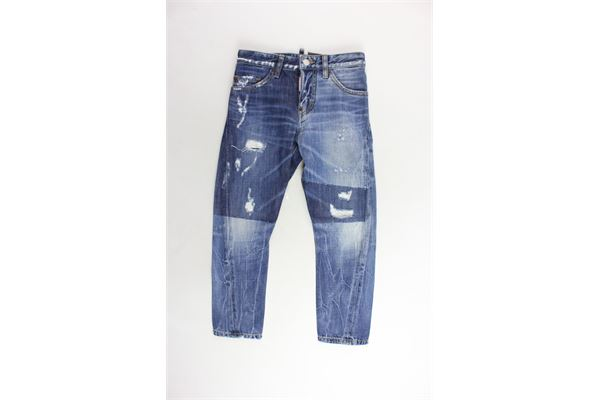 DSQUARED | Jeans | DQ021H-00N7BLU