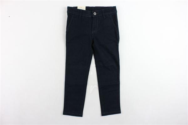 pantalone tasca america girovita regolabile tinta unita EDDIE PEN | Pantaloni | 3517.4BLU