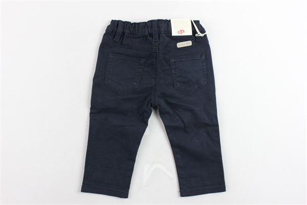 pantalone 5 tasche tinta unita elastico in vita EDDIE PEN | Pantaloni | 4J1733485TGBLU