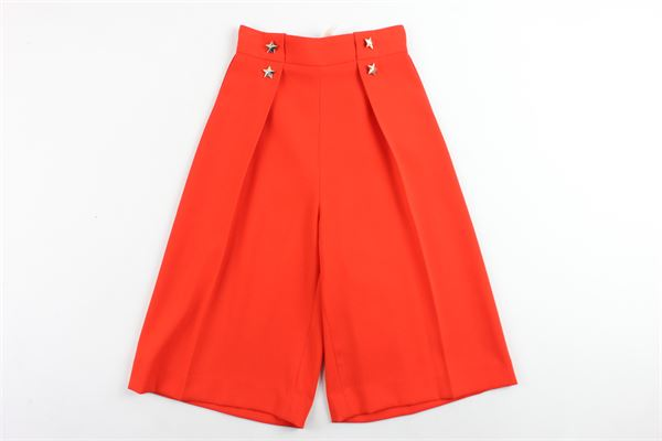 ELISABETTA FRANCHI | Trousers | EFPA01ARANCIONE