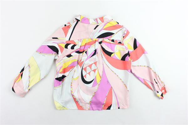camicia manica lunga stampa fantasia EMILIO PUCCI | Camicie | 9J5000JB420505GLROSA