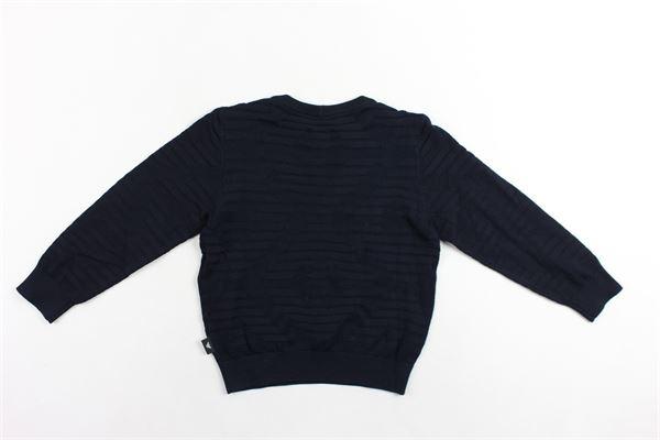 maglione girocollo manica lunga tinta unita EMPORIO ARMANI | Maglie | 6G4MY81MPWZBLU