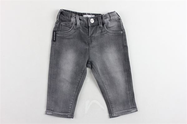 jeans tinta unita girovita regolabile EMPORIO ARMANI | Jeans | 6GHJ024DEJZGRIGIO