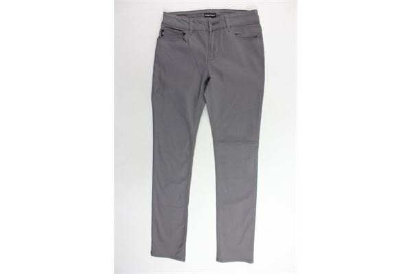 pantalone 5 tasche tita unita EMPORIO ARMANI | Pantaloni | 8N4J064NGGZGRIGIO