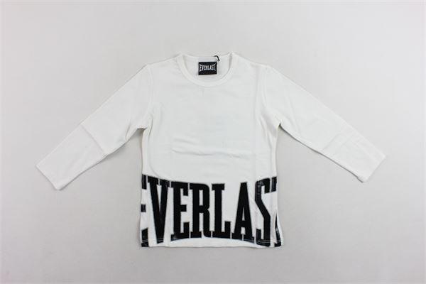 shirt cotone caldo tinta unita con stampa EVERLAST | Shirts | 022030BIANCO