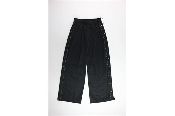 pantalone triacetato a palazzo tinta unita F**K | Pantaloni | F18W520NRNERO