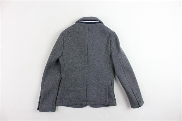 giacca tinta unita FAY | Giacche | NBH7439720JGRIGIO