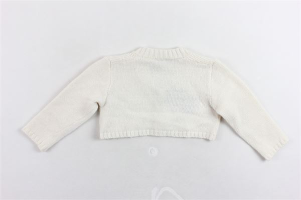coprispalle in lana tinta unita FENDI | Coprispalle | Z49080Z0480101PANNA