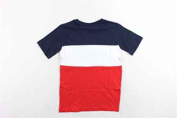 t-shirt mezza manica bicolore con stampa FILA | T-shirts | 687192MBLU