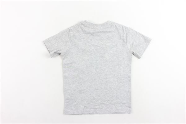 t-shirt mezza manica tinta unita con stampa FILA | T-shirts | 687196MGRIGIO