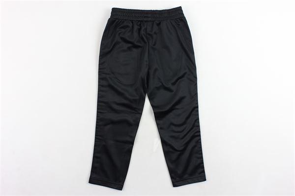 pantalone triacetato tinta unita profili loggati FILA | Pantaloni | 687268NERO