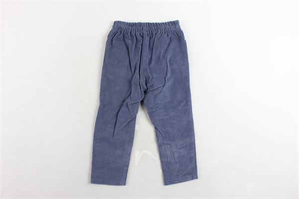 pantalone elastico in vita in velluto a costine FINA EJERIQUE | Pantaloni | O18B6546BLU