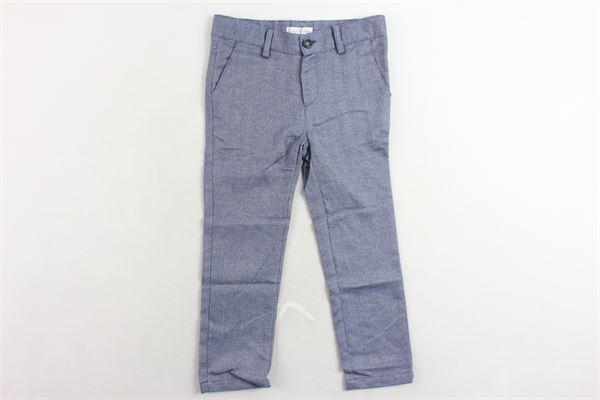 pantalone microfantasia girovita regolabile tasca america FINA EJERIQUE | Pantaloni | O18S2121BLU