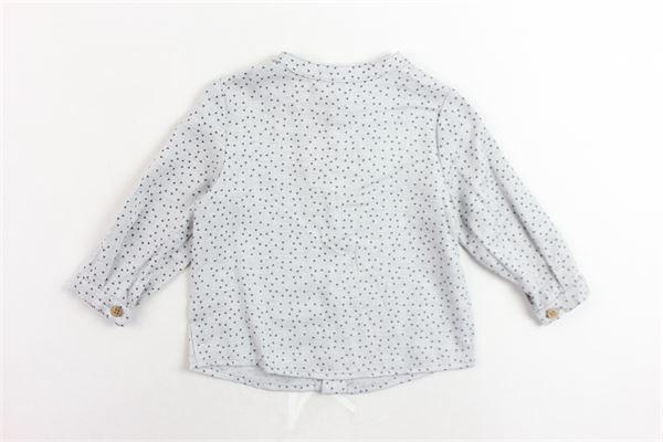 camicia collo coreano microfantasia FINA EJERIQUE | Camicie | O19B5324GRIGIO