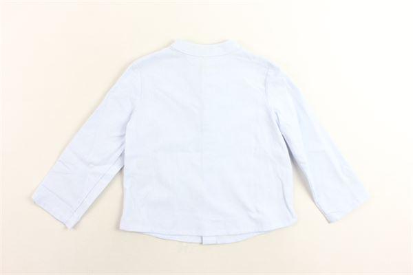 camicia collo coreano tinta unita FINA EJERIQUE | Camicie | P19B5858CELESTE