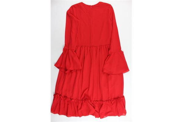 FRACOMINA | Dress | ABITIFRACOMINA2ROSSO