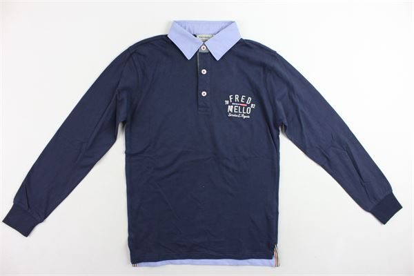 FRED MELLO | Polo Shirts | 017262BLU