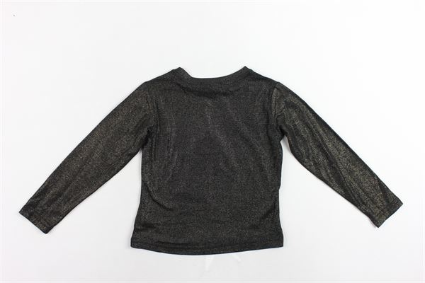 shirt manica lunga laminata con stampa FUN & FUN | Shirts | FNBTS2127NERO ORO