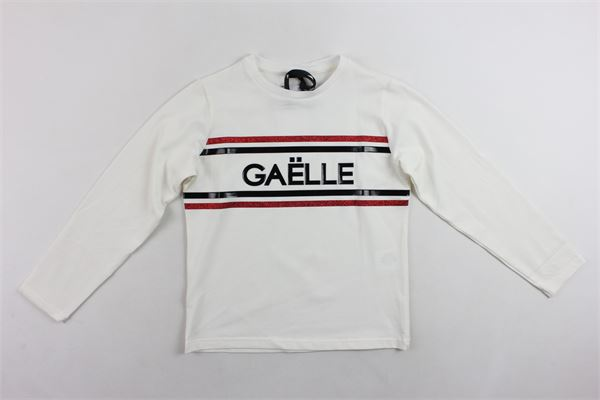 shirt manica lunga tinta unita profili in contrasto GAELLE | Shirts | 2741M0019BIANCO