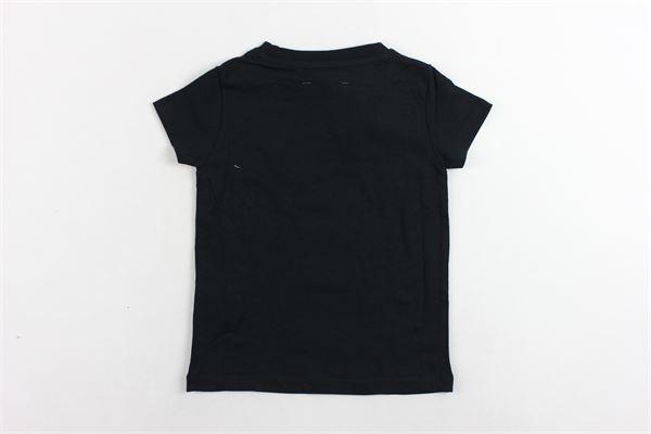 t-shirt mezza manica tinta unita con stampa GAELLE | T-shirts | 2746M0094NERO