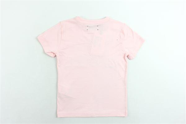 t-shirt mezza manica tinta unita con stampa e applicazioni GAELLE | T-shirts | GGTS69JE151ROSA