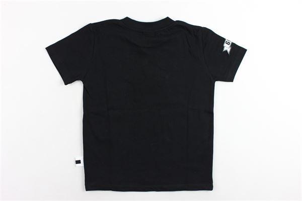 t-shirt mezza manica tinta unita con stampa GCDS | T-shirts | 019506NERO