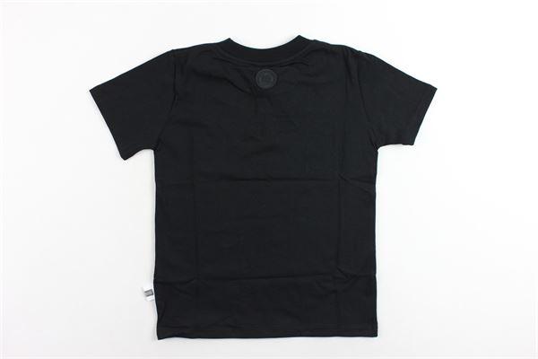 t-shirt mezza manica tinta unita stampa gcds GCDS | T-shirts | 0204133NERO
