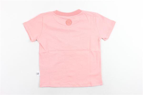t-shirt mezza manita tinta unita stampa gcds GCDS | T-shirts | 020413ROSA