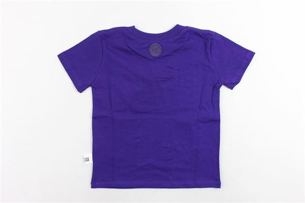 t-shirt mezza manita tinta unita stampa gcds GCDS | T-shirts | 020413VIOLA