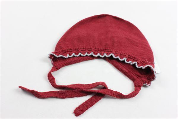 cappello modello cuffia in lanetta tinta unita GRANLEI | Cappelli | 21001BORDEAU