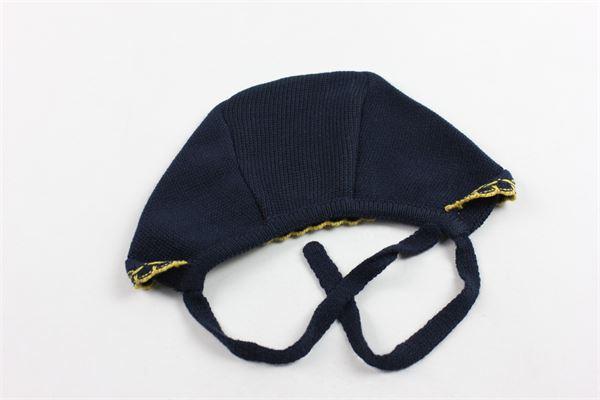 cappello modello cuffia in lanetta tinta unita GRANLEI | Cappelli | 21075BLU