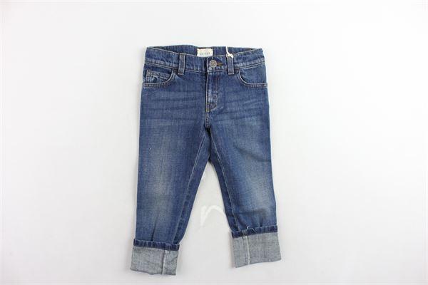 jeans tinta unita 5 tasche GUCCI | Jeans | BMC433311BLU