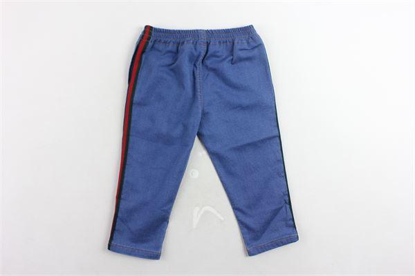 GUCCI | Trousers | BMR503368BLU
