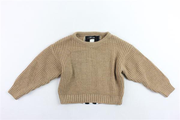 maglione girocolloin lana rigato I'M BRIAN | Maglie | MA1017JBEIGE SCURO
