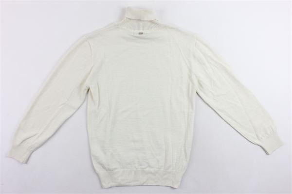 maglione collo alto in lana tinta unita I'M BRIAN   Maglie   MA1028JBEIGE