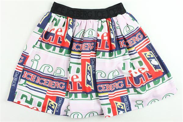 ICEBERG | Skirts | GOICEF9304JROSA