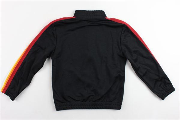 felpa con zip triacetata profili colorati ICEBERG | Felpe | MFICE9311JNERO
