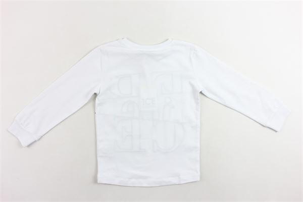 shirt manica lunga yinta unita con stampa ICEBERG | Shirts | TSICEF9330BBIANCO