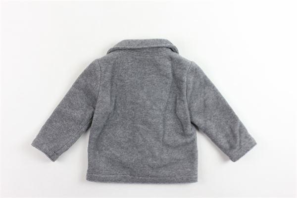 giacca in felpa tinta unita IL GUFO | Giacche | A19GA073M0079/081GRIGIO